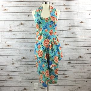 Lindy Bob Blue Floral Dress
